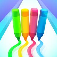 彩色铅笔冲冲冲游戏