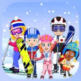 托卡迷你城市滑雪人